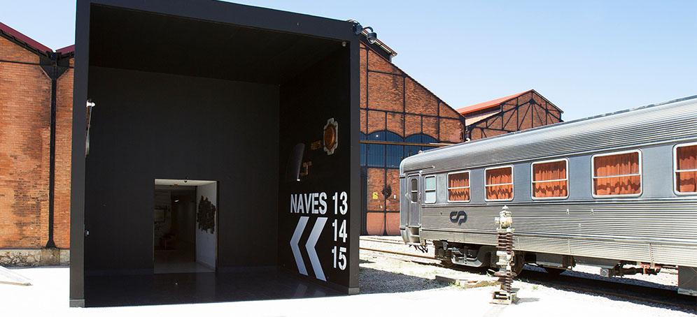 Photo of the entrance to the Oficinas do Vapor